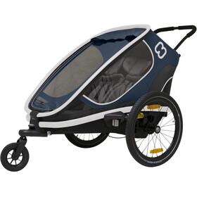 Hamax Outback Rimorchio bici, blu/nero